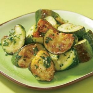 Presto- Zucchini with Pesto!